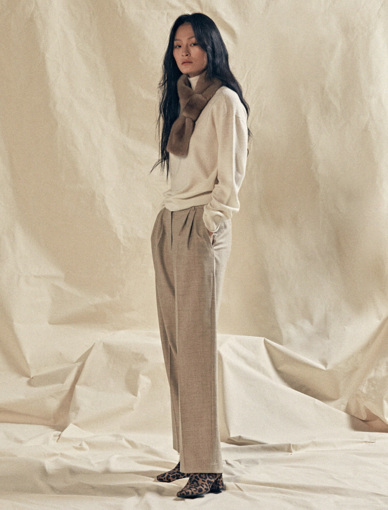 [YWZ]Classic wool pants 오트밀